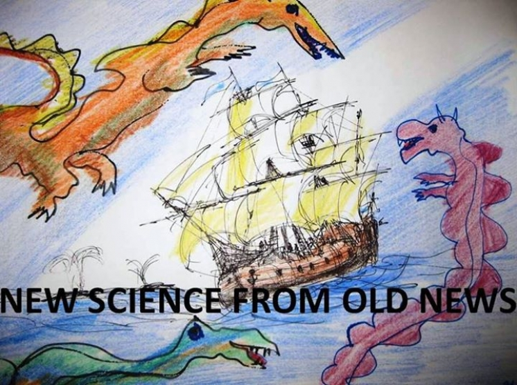"New Book!  ""NEW SCIENCE FROM OLD NEWS"" - Crowdfunding campaign"